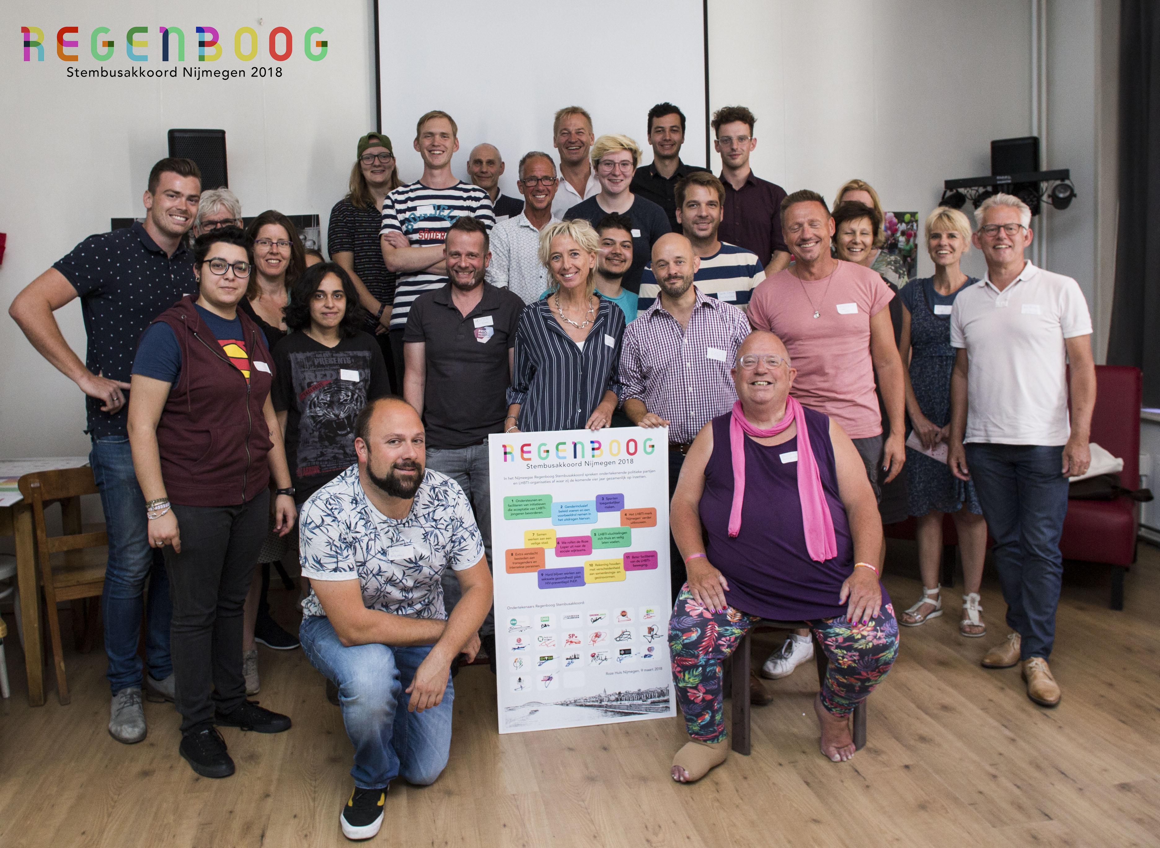 Nijmegen aan de slag met het Regenboog Stembusakkoord