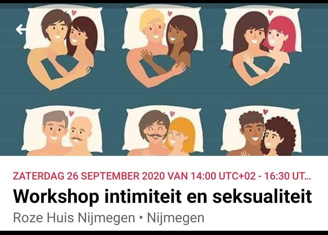 Workshop Intimiteit en Seksualiteit