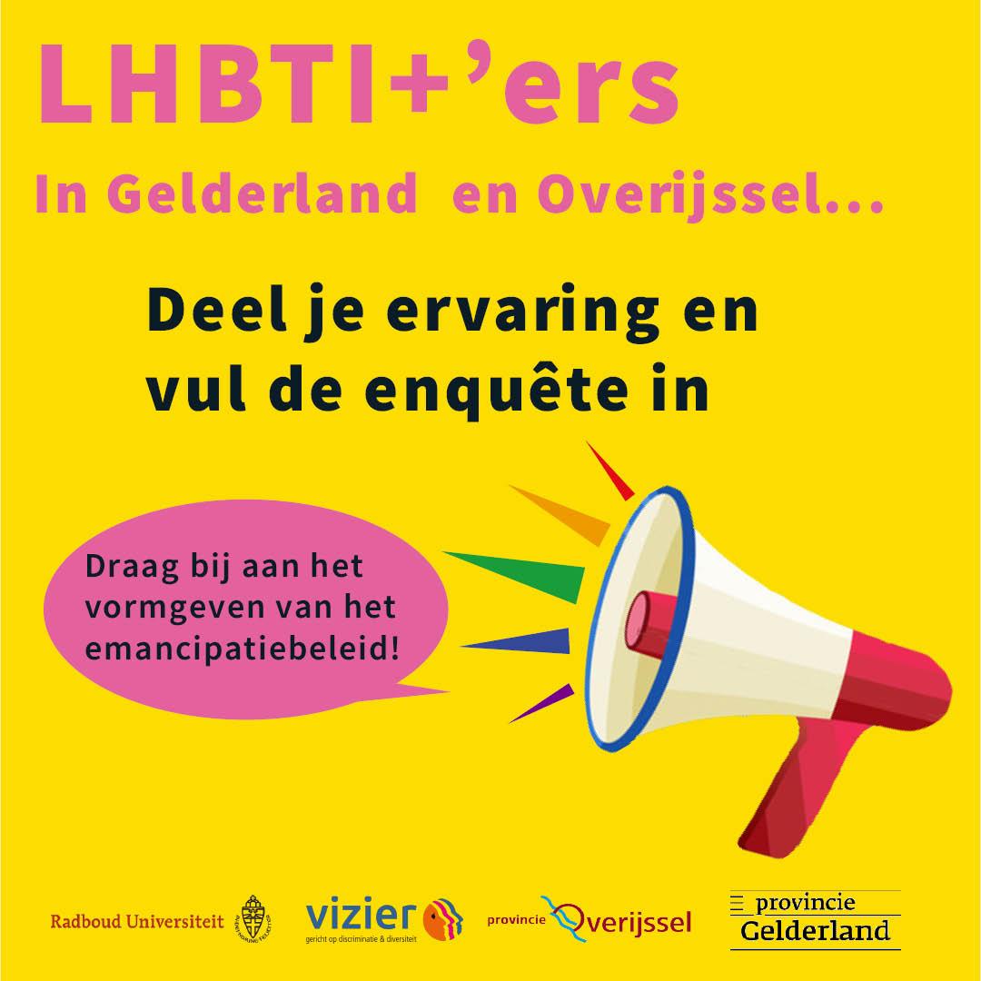 Onderzoek LHBTI+ Provincie Gelderland