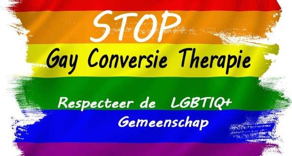 Stop homo-conversietherapie!